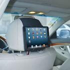 TFY Universal Car Headrest Mount Holder for 18cm to 28cm Tablet PC - 5TABLETBLK