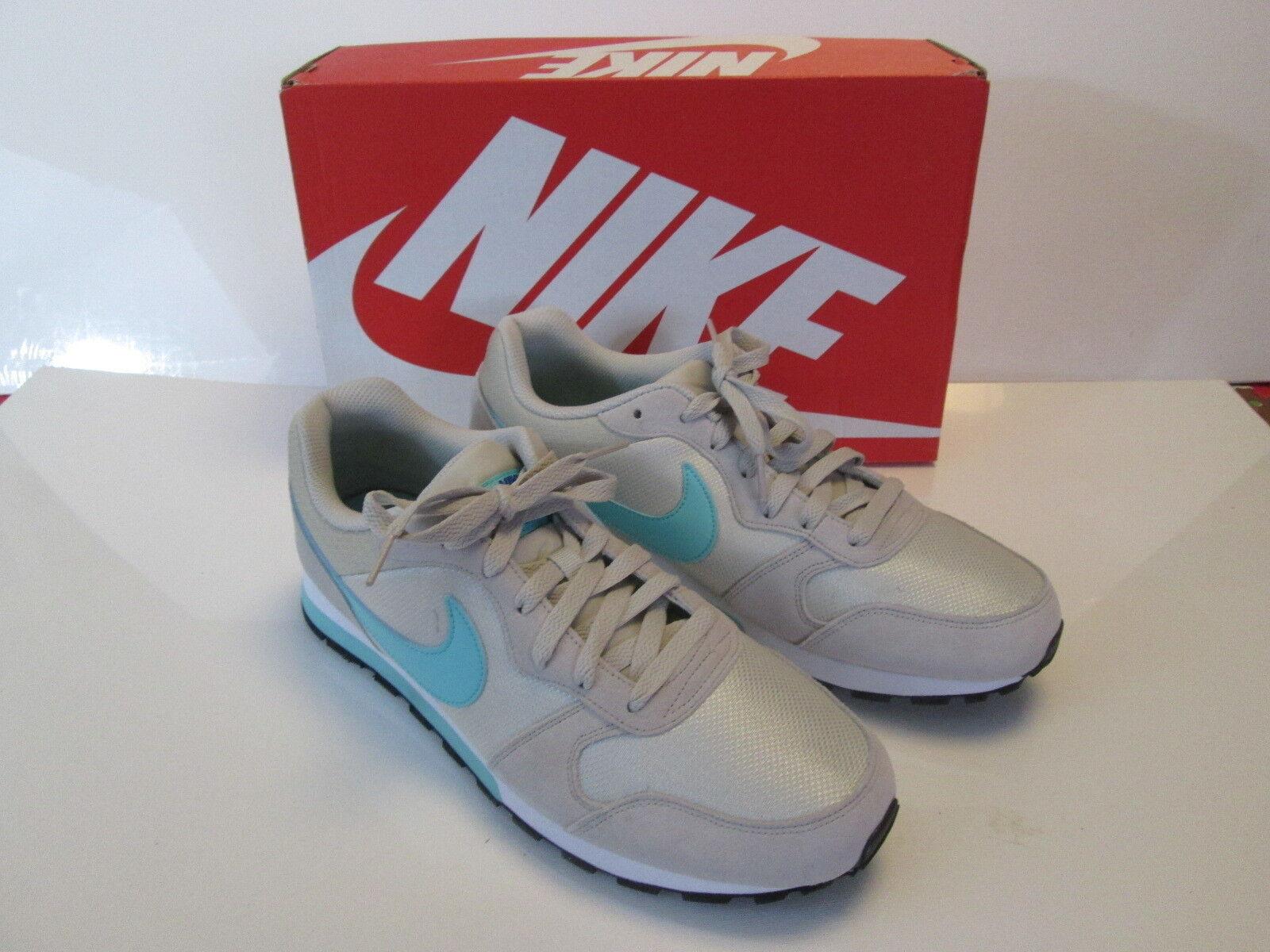 new style d2e14 9e475 Nike Nike Nike Women s MD Runner 2 Running Shoes Sneakers 749869 034 Lght  Bone Blue 11