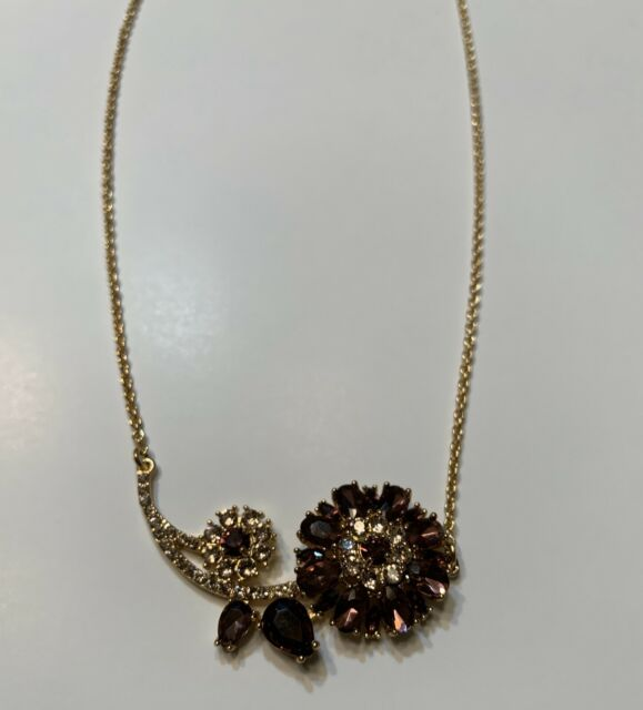 Orchid Trellis New Diamontrigue Jewelry: Kate Spade New York Trellis Blooms Mini Pendant Necklace