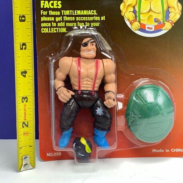 Amicable Herculean action figure moc teenage mutant mutant mutant ninja turtle head eye patch 3dbffd