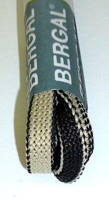 Bergal DOUBLE Schnürsenkel ZWEIFARBIG FLACH BREIT Senkel Schuhbänder 120cm