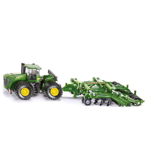 SIKU John Deere 9630 mit Amazine Contaur Traktor Farmer Serie Spielzeugauto 1856