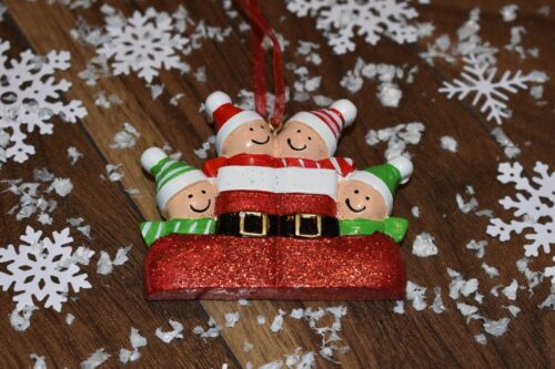 XMAS Decoration Gift Bauble Family Personalised Christmas Grandparents