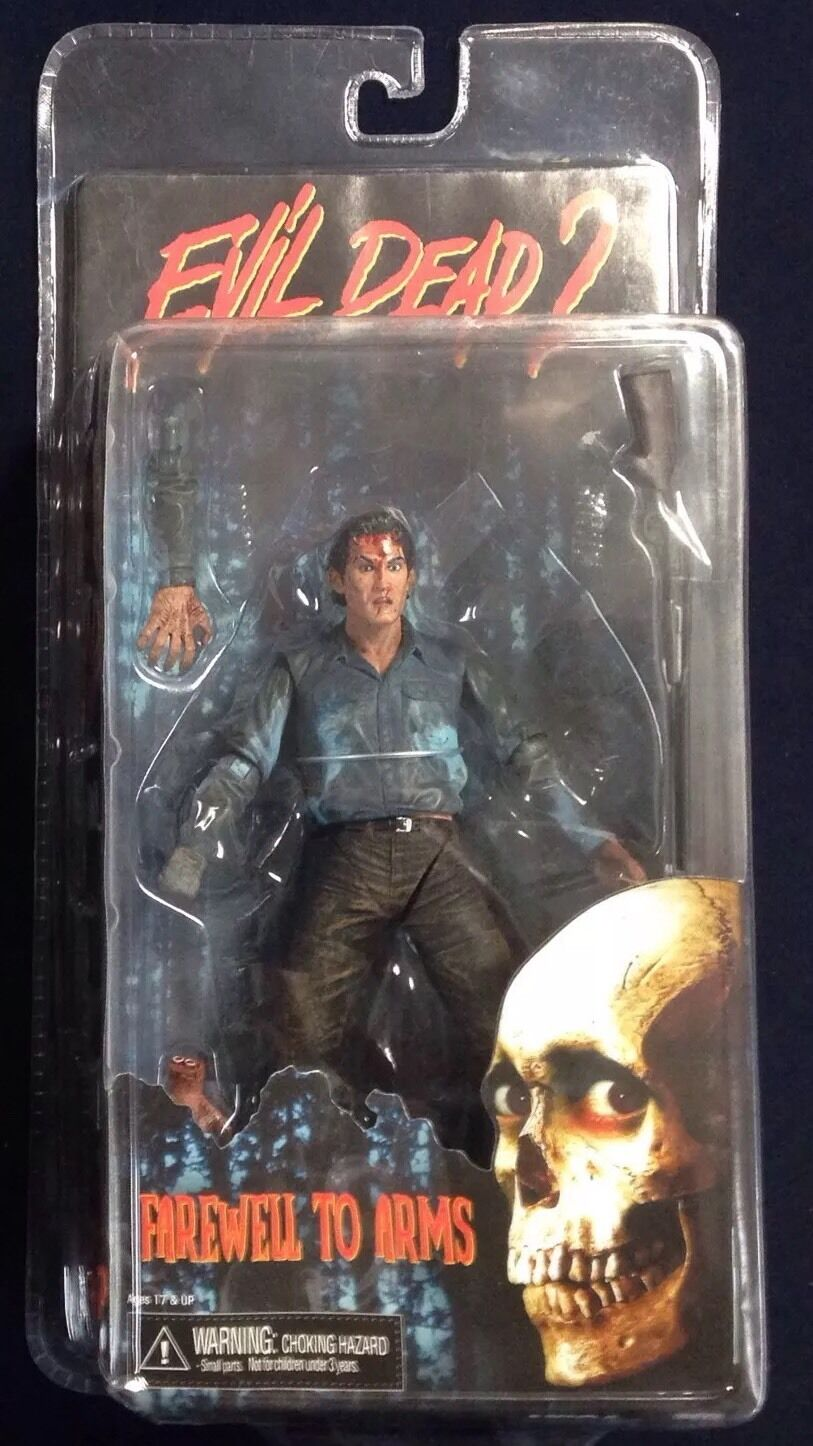 Evil Dead 2 Ash, Farewell to Arms, Neca Reel Toys