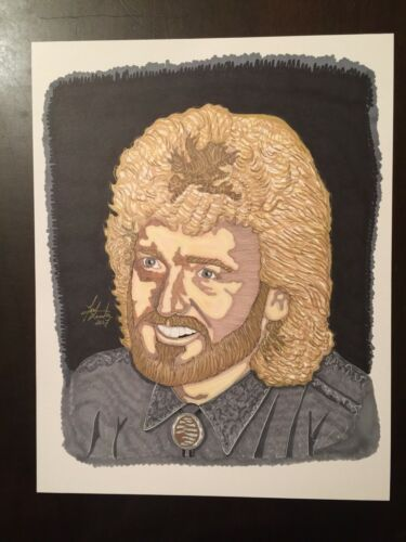 Country Music Legend Keith Whitley Limited Edition Signed Print Artist T Keaton