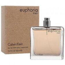 Euphoria Cologne by Calvin Klein 3.4 oz / 100 ml Eau De Toilette Spray For Men