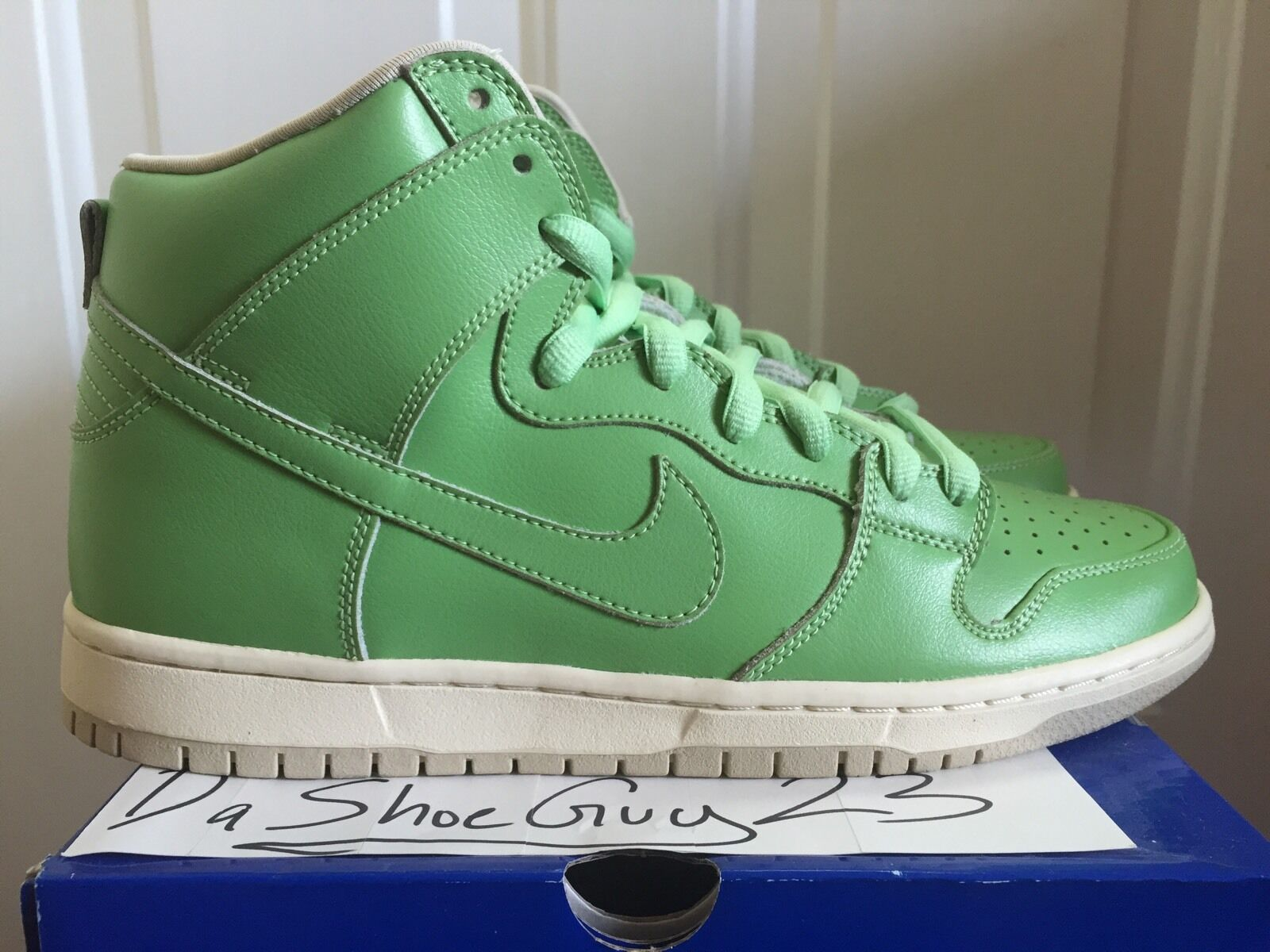NIKE DUNK HIGH PREMIUM SB STATUE OF LIBERTY sz 9 313171 302 WTD SUPREME SPNY