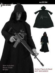 DOLLSFIGURE-CC042-1-6-Scale-12-034-Male-Action-Figure-Black-Cape-Cloak-Model-Toy