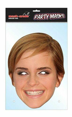 Maschera VISO Emma Watson Harry Potter Personaggio Celebrità Party Costume Maschera