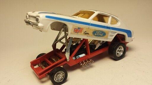 Corgi Ford Capri 60er years Dragster Original Very Good Condition