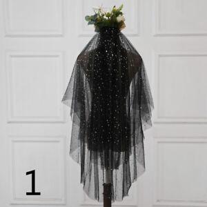 Lady-Black-Bridal-Wedding-Veil-with-Comb-Bride-Gothic-Lolita-Party-Vintage-Fairy
