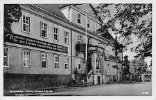 AK Mutzschen i. Sa. Jonny-Scheer-Schule Postkarte