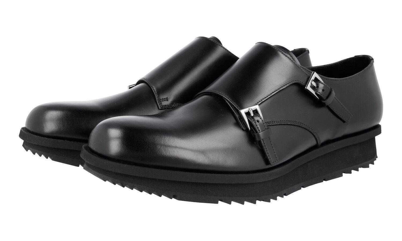 shoes PRADA LUXUEUX 2OE023 black NOUVEAUX 11 45 45,5