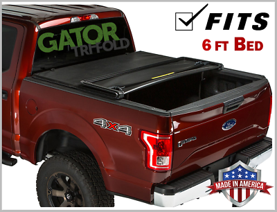 59310 Gator Etx Soft Tri Fold Truck Bed Tonneau Cover Made In The Usa 1982 2011 Ranger 7 Bed Automotive Exterior Accessories