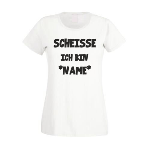 Damen T-Shirt JGA Junggesellenabschied Braut Heirat Juhuu Scheisse XS-2XL