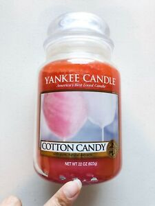 Yankee-Candle-Jar-Cotton-Candy-22oz-NEW-Discontinued
