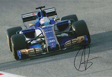 "Antonio Giovanazzi ""Sauber 2017"" Autogramm signed 20x30 cm Bild"