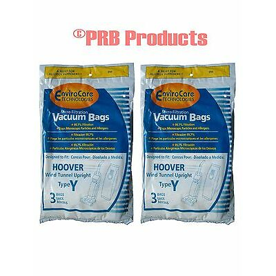 Hoover 4010100Y WindTunnel Allergy Upright Vacuum Cleaner Type Y Bag Dual V Plus