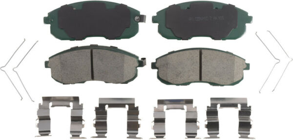 Disc Brake Pad Set-Posi 1 Tech Ceramic Front Autopart Intl 1412-639444