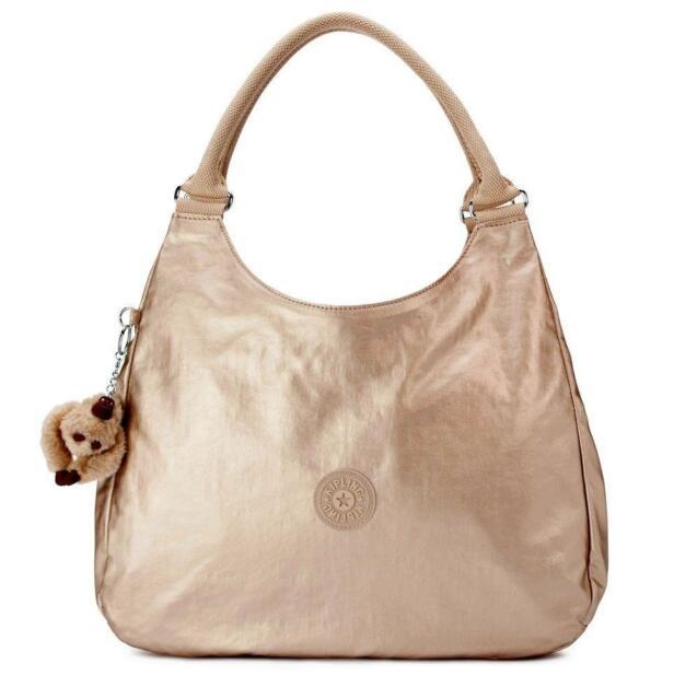 0bae00dfc New With Tag Kipling BAGSATIONAL Shoulder Bag HB6402 340 - Toasty Gold