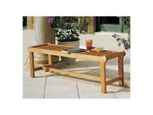 Revni A-Grade Teak Wood 55 Backless Bench Chair Outdoor Garden Furniture New