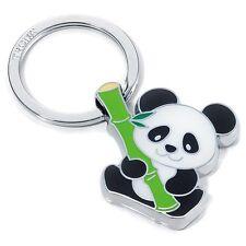 Troika Metal Keyring BAMBOO PANDA BEAR key chain ring cast alloy KR1003CH