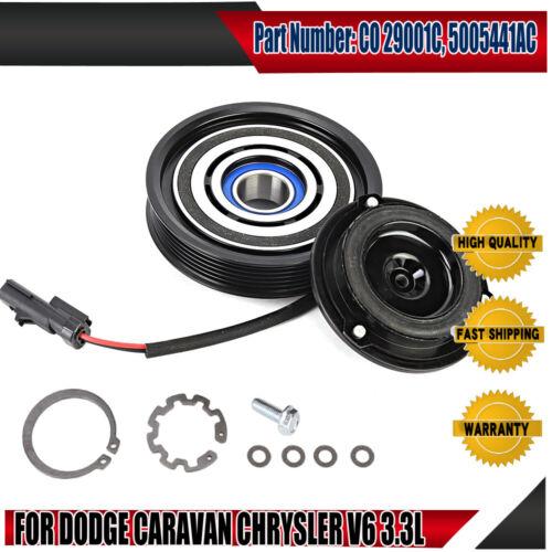 New AC Compressor  Kit For Dodge Grand Caravan Cheysler 3.3L V6 2001-07
