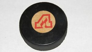 1973-80-Atlanta-Flames-Official-Viceroy-Inglasco-NHL-Game-Puck-Not-Used-Calgary