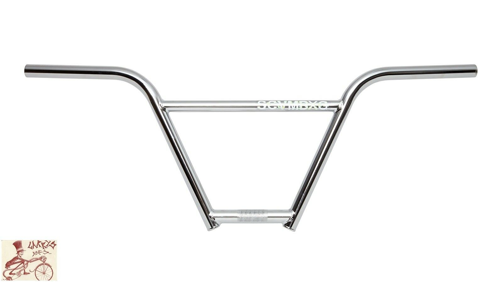 FIT BIKE CO. BEGIN 4PC SCUMBAG CHROME (9.420 ) BICYCLE HANDLEBAR