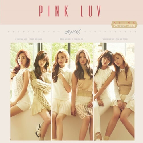 APINK-[PINK LUV] 5th Mini Album CD+Photo Book+1p Photo Card A PINK K-POP Sealed