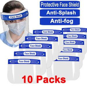 10x-PCS-Anti-fog-Empty-Top-Cap-Full-Face-Splash-proof-Face-Protective-shield-Hat