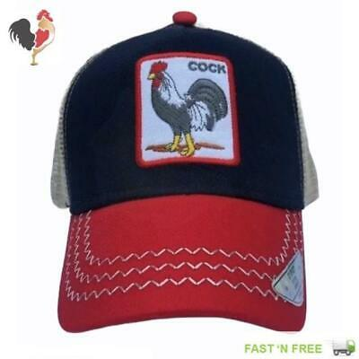 Gallo Rooster SnapBack Trucker NAVY//RED//KHAKI