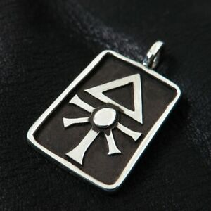 925 Silver Chaos Star Pendant Warhammer Khorne Nurgle Tzeentch Slaanesh Amulet