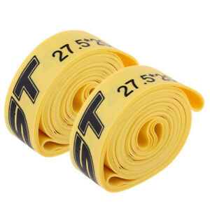 2pcs Bike Tire Liner Bicycle Rim Belt Puncture Proof Pad 26inch x 20mm
