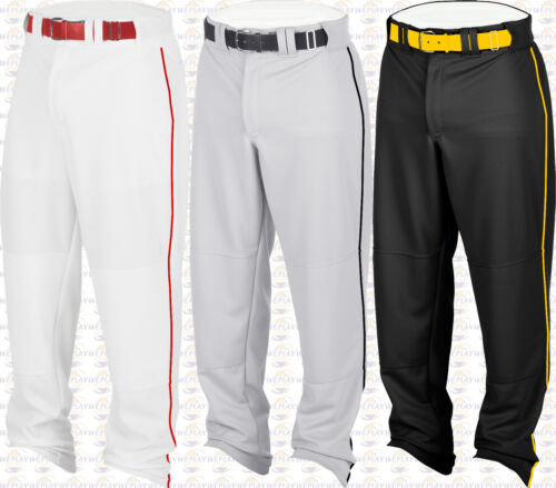 Rawlings ourlés Relaxed Fit fond ouvert Youth Boys baseball Pantalon W Piping Braid