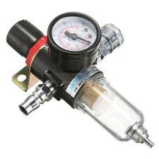 14 Air Compressor Filter Water Separator Trap Tools Kit With Regulator Gauge