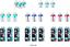 Tommee-Tippee-3x-Advanced-Anti-Colic-150ML-260ML-340ml-Bottles-W-MINI-BRRUSH thumbnail 1