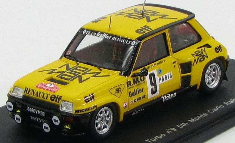 Renault 5 Turbo th Monte Carlo Rally 1982  Spark S3854 1 43