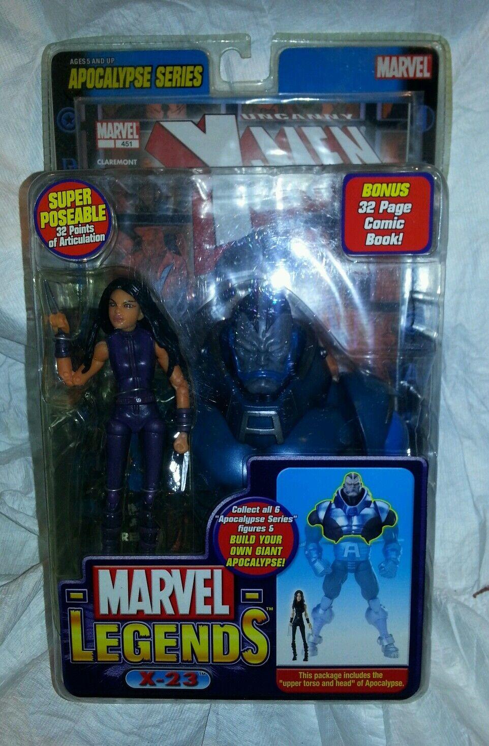 Marvel Legends series X 23 purple 6-inch