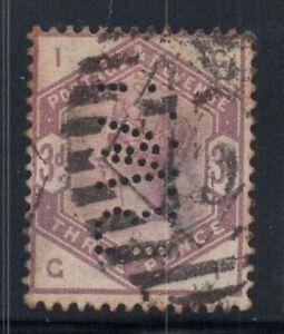 Grossbritannien-1883-Mi-76-Gestempelt-40-3-Pence-Koenigin-Victoria