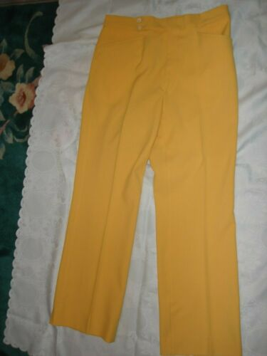 """Vintage 70""""s Mustard Yellow Originals Montgomery W"""