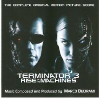 "Marco Beltrami:  ""Terminator 3 - Rise Of The Machines""  (Soundtrack Score CD)"