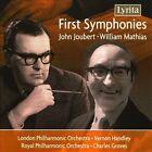 John Joubert, William Mathias: First Symphonies (CD, Apr-2010, Lyrita)