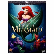 The Little Mermaid DVD Diamond Edition Disney New comes with outer Slipcover