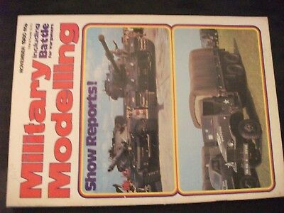 **m Military Modelling November 1980 The Royal Military Police / Camp Coffee