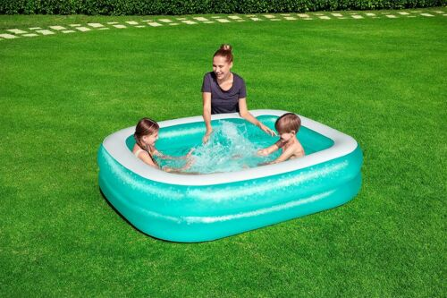 PADDLING POOL Bestway Family Inflatable Blue Kids Play Water Blow Up Swimming