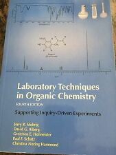 Laboratory Techniques in Organic Chemistry ISBN 978-1-4641-3422-7