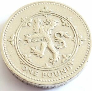 1994 ONE POUND COIN 1994 1 COIN THE SCOTTISH RAMPANT LIONCOIN HUNT - <span itemprop='availableAtOrFrom'> Cumbria, United Kingdom</span> - 1994 ONE POUND COIN 1994 1 COIN THE SCOTTISH RAMPANT LIONCOIN HUNT -  Cumbria, United Kingdom