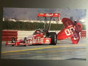 1998-Kenny-Bernstein-s-Budweiser-Top-Fuel-NHRA-Print-Picture-Poster-RARE