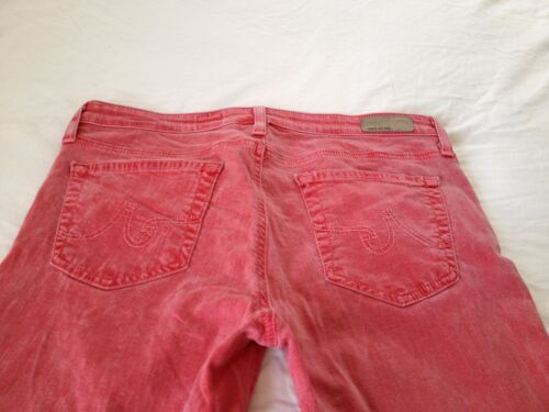 Taille Goldschmied Jeans L27 Slim Ag Adriano Stevie Femme Cheville 30 Droit Rose FTfUUzxqw